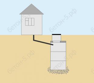 бетонный септик макси 9